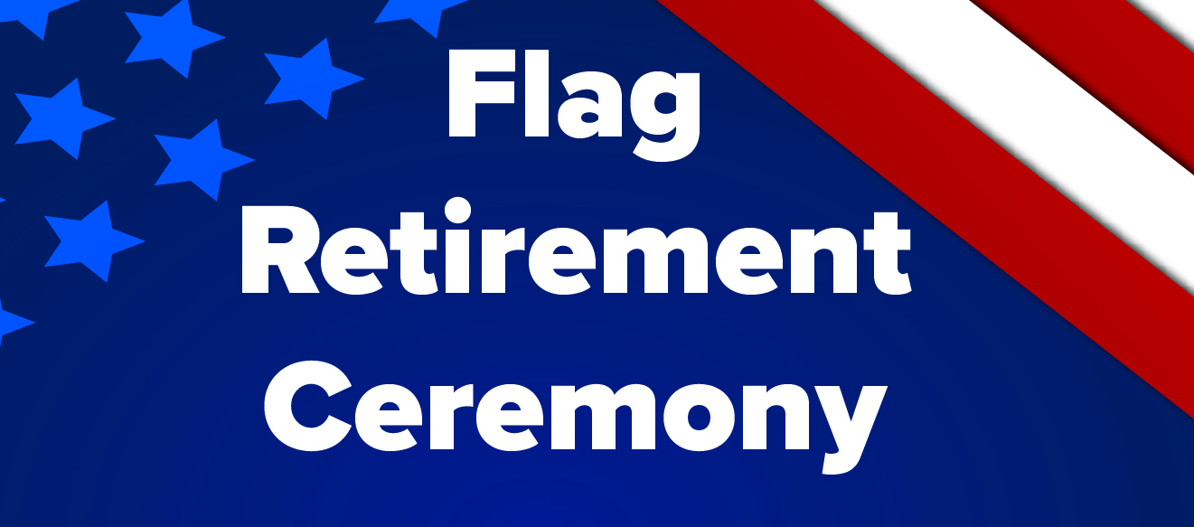 Flag Ceremony Banner