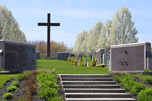 Sations of the Cross Columbarium at Holy Cross Akron