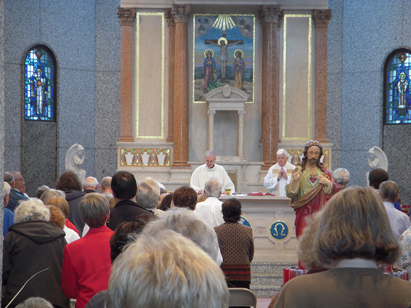 mass in mausoleum