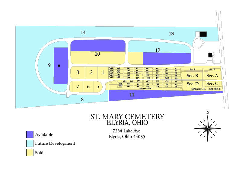 St. Mary Map